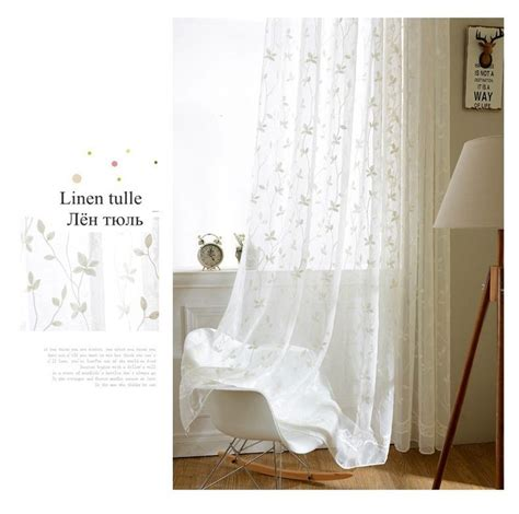 17 best ideas about white sheer curtains on