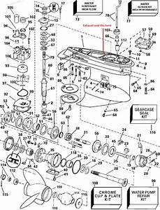 Honda 225 Outboard Lower Unit Diagram