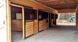 Horse barn interior inside barn horizon structures for 12 stall horse barn