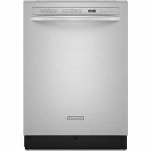 Kitchenaid Kuds03ctss Full Console Dishwasher With 4