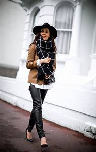 How To Wear The Oversized Scarf Trend | Huge Scarf Outfit Ideas - Just The Design