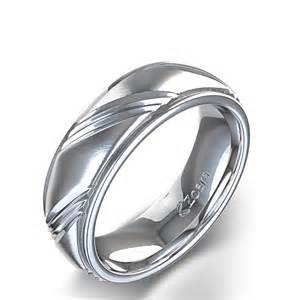 awesome mens wedding rings s unique centre angle design wedding ring in 14k white gold
