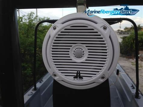 Adding Rod Holders To Fiberglass Boat by Adding Marine Speaker Cans To Your Wakeboard Boat Ttop