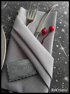 Serviette De Table En Tissu : pliage serviette de table tissu cgrio ~ Teatrodelosmanantiales.com Idées de Décoration