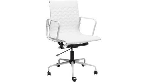 chaise bureau roulettes chaise de bureau blanche maison design modanes com