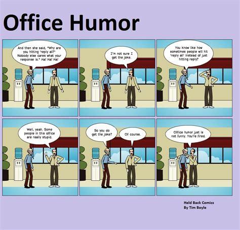 bureau humour jokes held back