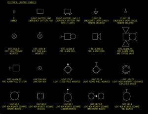 Elec lighting symbols
