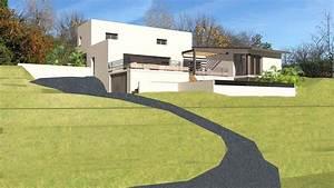 telechargez nos plans de maisons d39architecte With good maison en pente forte 8 construction maison lyon construction dune maison