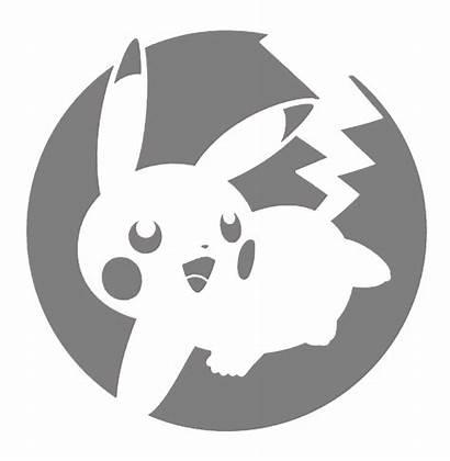 Pumpkin Pikachu Pokemon Stencil Stencils Carving Disney