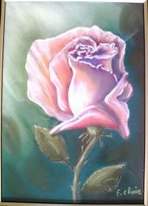 Peindre Au Pastel : peinture acrylique sur toile fleurs recherche google jammes pinterest peinture ~ Melissatoandfro.com Idées de Décoration