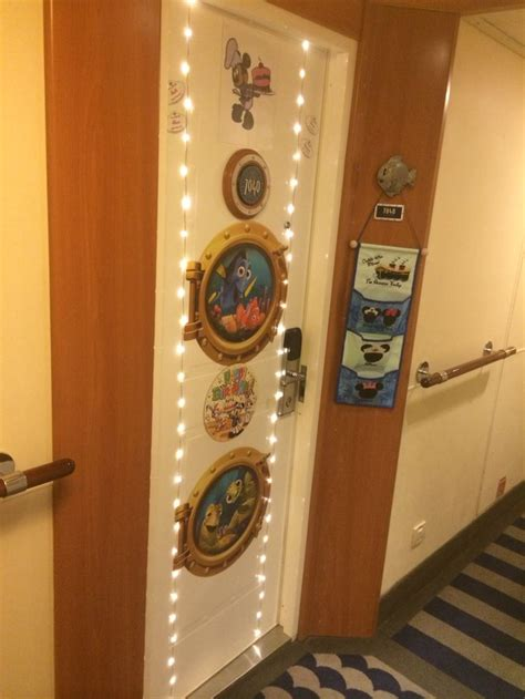 our door decoration for disney wonder disney cruise