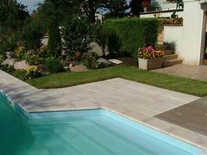 Margelle Pour Piscine : margelle pierre reconstitu e plate courbe 4 cm blanc nuanc ~ Melissatoandfro.com Idées de Décoration
