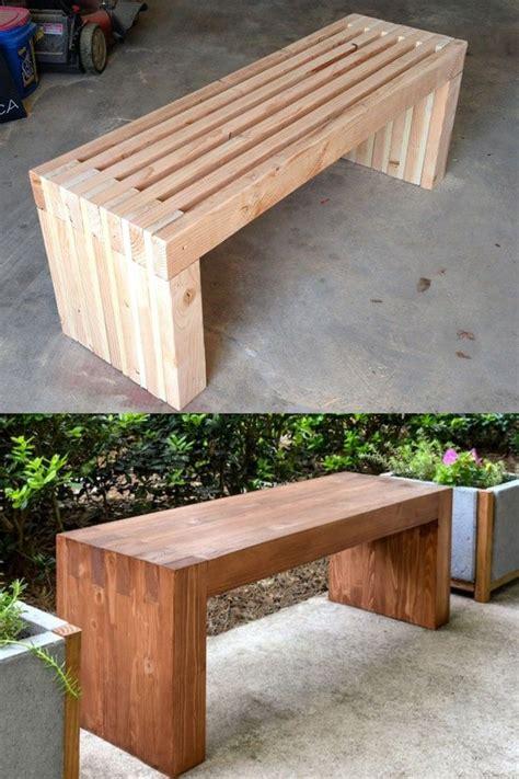 gorgeous easy diy benches indoor outdoor