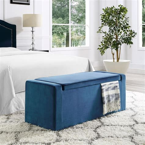 Upholstered Shoe Storage Bench by Inspired Home Brian Upholstered Shoe Storage Bench