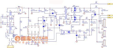lcd tv power supply circuit diagram  repository