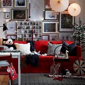Ikea Deco Noel : une ambiance de no l scandinave en rouge et blanc sign e ikea ~ Melissatoandfro.com Idées de Décoration