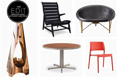 the edit american made outdoor furniture the american edit