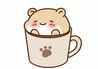 Cute coffee cappuccino and espresso kawaii button vector. Cute Coffee GIFs | Tenor
