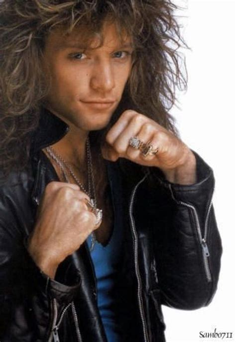 jon bon jovi forms a band today in history like