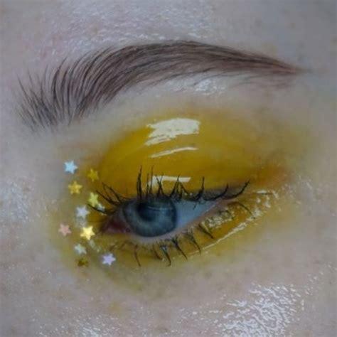 yellow eyeshadow yellow eyeshadow pinterest