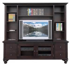 tv hutch 84 inch console with hutch dark brown media cabinet entertainment center 6398
