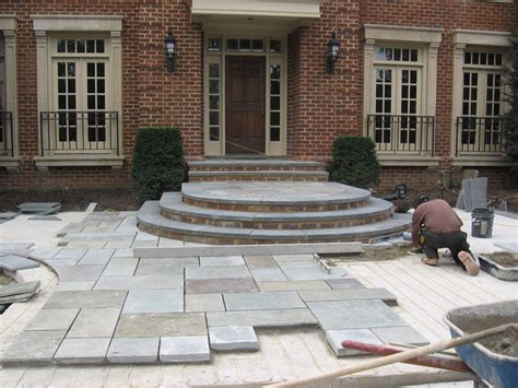 flagstone construction hardscape installation sisson landscapes