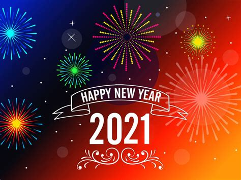 Happy New Year 2021 Messages Greeting Card Wallpaper Hd ...