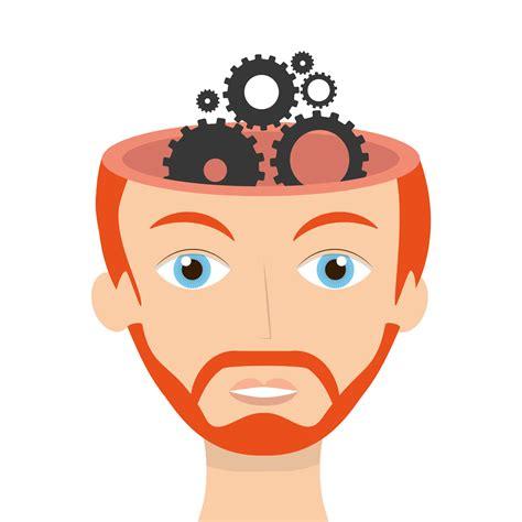 Brain Cerebrum Cartoon - Cartoon brain gears image png ...