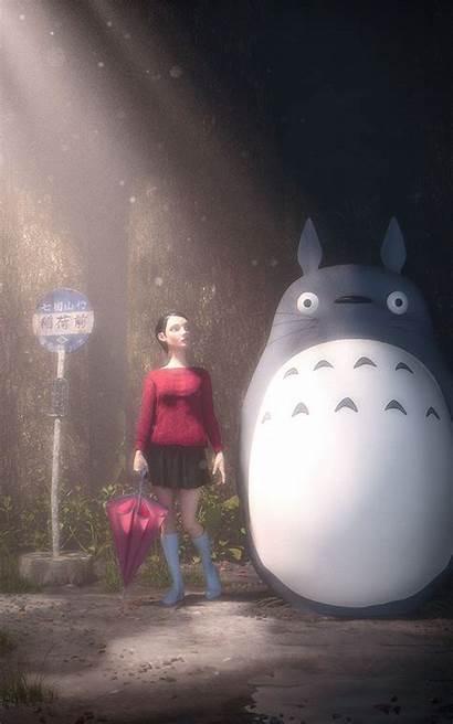 Totoro Neighbor Fhdpaper
