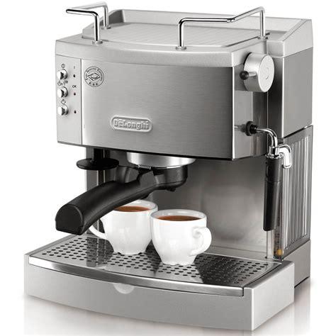 espresso maschine delonghi de longhi stainless steel manual espresso machine at lowes