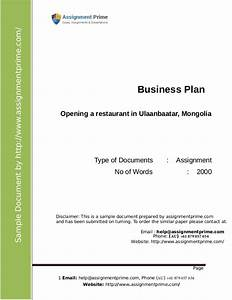 business plan assignment sample With business link business plan template