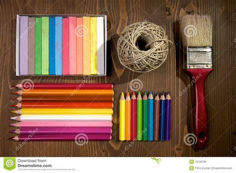 Arts And Crafts Stock Image Image Of Paintbrush