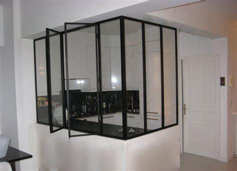 fenetre atelier cuisine verrière idées pour la maison métaux