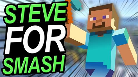 minecraft steve  smash youtube