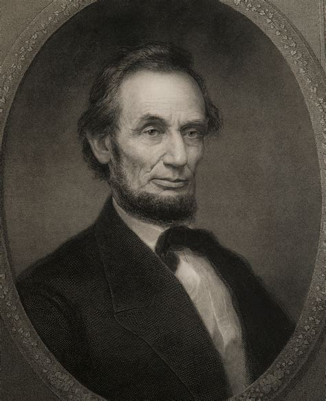 lot detail  abraham lincoln engraving university
