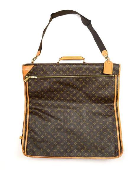 louis vuitton monogram travel garment bag wstraplockkey