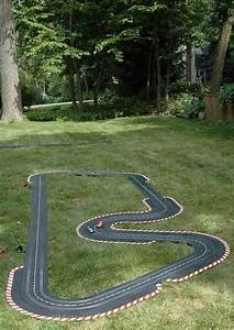 Make A Diy Outdoor Race Car Track For Your Kids