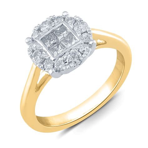 halo engagement ring kmart