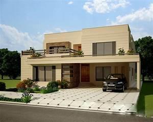 Exterior, House, Design, Front, Elevation, Archives