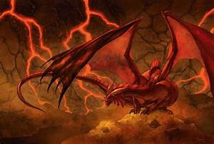 Fire-Red Dragon | Dragon, Dragons, DRAGONS! | Pinterest