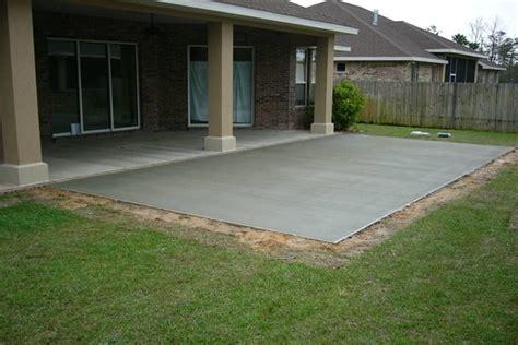 simple concrete patio designs gorgeous simple concrete