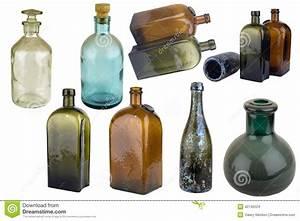 Bouteille De Verre : bouteille en verre ancienne photo stock image du bouteille vieux 42142524 ~ Teatrodelosmanantiales.com Idées de Décoration