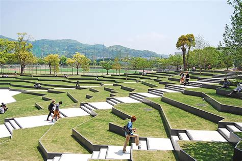 terraced landscapes the terraced plaza is a