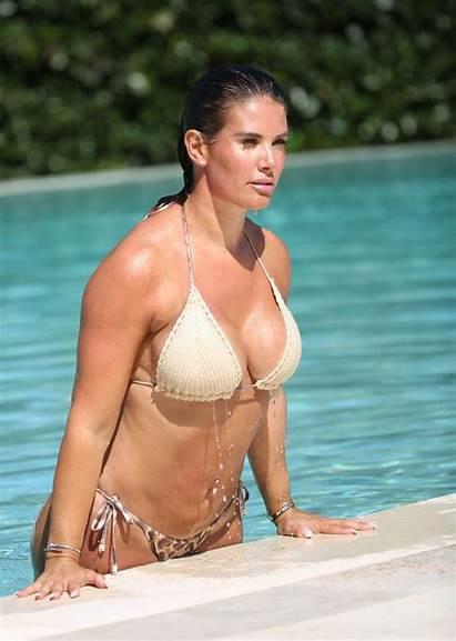 Vardy Rebekah Bikini Pool Portugal Gotceleb Beach