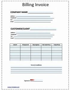 template contractor forms template With general invoice form