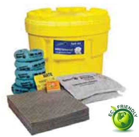 75 litres 20 gallon overpack spill kit