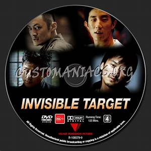 Invisible Target dvd label - DVD Covers & Labels by ...