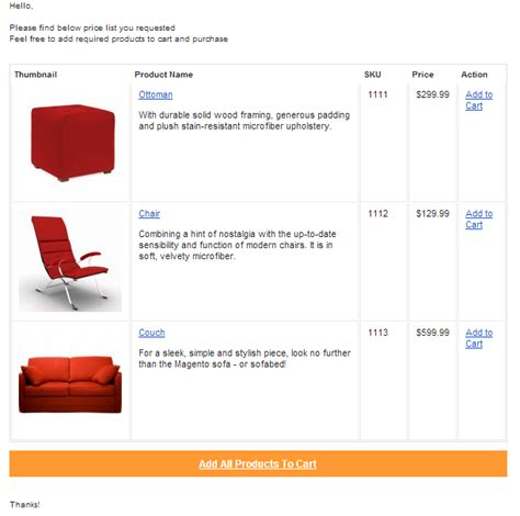 Product Price List Template With Pictures by Email Price List Magento Extension Magento Extensions