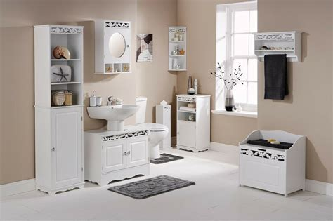 The Range Bathroom Cabinets by Coral White Bathroom Furniture Range Cabinet Wall