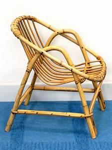 Chaise Enfant Rotin : petit fauteuil rotin enfant design 60 brocnshop ~ Teatrodelosmanantiales.com Idées de Décoration